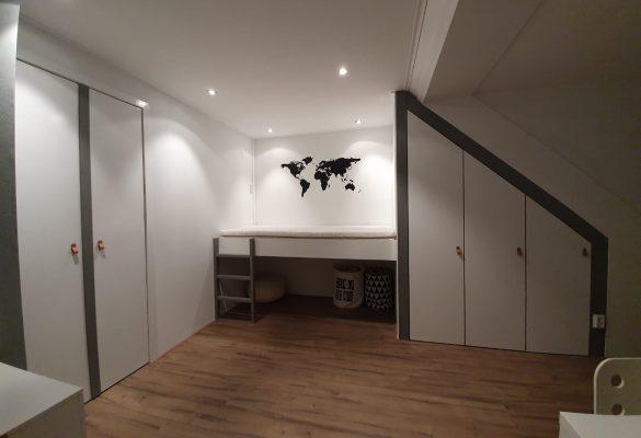 Complete verbouwing kinderslaapkamer